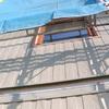 工事116日目:外壁材貼り未完