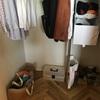 寝室クローゼットのプチ片づけ~。洗濯物を片付ける動線を考えてみた!