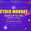 TOMTOP『Cyber Monday』セールが本日11月26日開催中!