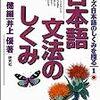 現代日本語文法(研究)の入門本をいくつか簡単に紹介
