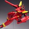 バンダイ VF HI-METAL(ハイメタル) VF-19改 ファイヤーバルキリー サンプル レビュー