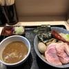 657. 特製つけ麺@長男もんたいちお(京成八幡):いまだかつて見たことないほど極太な麺に、ド濃厚スープが合わさった激ウマつけ麺!