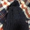 編み物してる