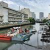 横浜・滝の川を歩く その1 河口から六角橋で合流する支流の源へ