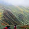 紅葉の月山に登ってきました・頂上リベンジ!1