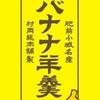 バナナ羊羹(村岡総本舗)
