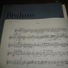 Brahms vnソナタ1番 次回から2楽章