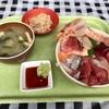 神奈川区山内町 横浜中央卸売市場本場の「横浜魚市場卸協同組合 厚生食堂」で海鮮丼