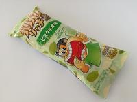 ガリガリ君「リッチ」ピスタチオ味は、ガリガリ君のピスタチオ味。安定の再現度!