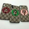 ブランド Gucci IPhoneXケース グッチ Iphone8/7 Iphone8plus/7plusケース Iphone6/6s Plus Iphone6/6sカバー ジャケット 犬柄刺繍付き