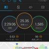 はじめての25km走