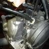 XT250(3Y5) タコメーターワイヤー付け根のオイルシール交換