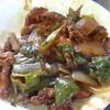 幸運な病のレシピ( 600 )朝:豚揚げの甘酢仕立直し、鮭、シシャモ、煮しめ