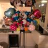 茨木花屋の人気商品、お祝いおまかせバルーン&フラワースタンド!
