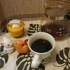今回のコーヒーはマンデリンG1(中深煎り)~お茶請けはカボチャプリン~