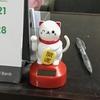 当店(カフェー)にも招き猫を設置しました(笑)。
