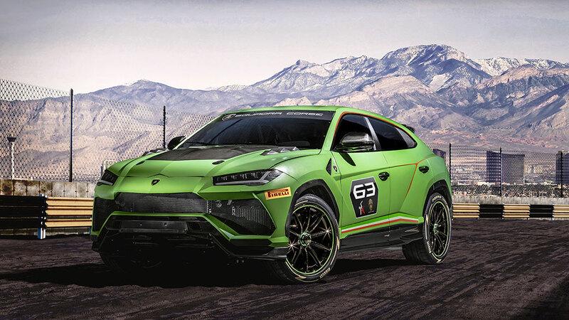 ランボルギーニ ウルスST-Xコンセプトを公開。SUVによるワンメイクシリーズもスタート