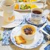 お友達と、自宅でアフタヌーンティー~チョコフォンデュ、焦がし?焦げた?クリームブリュレ等/My Homemade Afternoon Tea at Home/ขนมที่ทำเอง