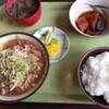 鶴岡市「定食屋」でランチ。夜は住吉で一杯。