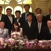 増田先生の結婚式・披露宴−−主賓の祝辞