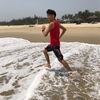 【ベトナム観光】裸足でビーチラン