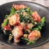 エイジングケアのレシピ:モロヘイヤとタコのごま味噌和えの作り方