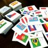 【てづくりおもちゃ】国旗のメモリーゲーム80ヶ国160枚(5歳)