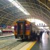 マレーシア行きの寝台列車にて