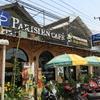 収容人数100人以上。バンビエンで一番大きいカフェ、パリジャン・カフェ