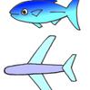 魚のしっぽの新型うちわ