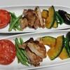 豚肉と夏野菜のグリル
