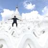 【世界一周#20】真っ白なパゴダに大興奮!⦅絶景⦆