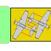 空母赤城の艦載機格納状況