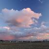 夕暮れ景色~その63②『夕焼けに染まる雲』