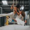 ダンスにおけるDNA二重らせんへの投影
