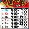 12月31日 マルハン苗穂店 19時閉店 出玉データ