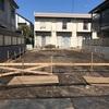基礎工事が始まりした。