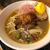 523. ソフトシェルクラブのサフランらーめん@海老丸(神保町):サフランの効いた濃厚カニ+カニミソスープは衝撃の美味しさ!いつかまた食べたい一杯!