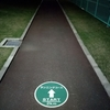 夜の福井運動公園でランニングしてきた。
