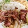 仲通の「ユリショップ」でブラジル料理