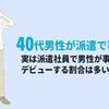 【派遣社員体験談5】40代前半男性(神奈川県):テンプスタッフで2年間某有名企業の事務で働いたヤスさんの派遣社員体験談