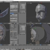 HoloLens特化のホロ恋子モデルを作成する その15(頭部の基礎を作成する)