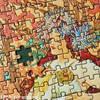 ミュシャのジグソーパズル・スーパースモール2000ピースが時間を忘れるくらい楽しかった