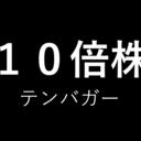 10倍株(テンバガー)発掘調査ブログ