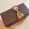 1日1つ手放す 8日目 <KEN'S CAFE TOKYO のチョコレートケーキの箱>