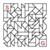 四角渡り迷路:問題25