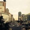 神戸三宮にて。