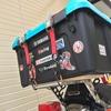 【ホムセン箱を積むなら!】SR400にしっかり固定できて取り外しも簡単な最終形