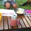 子連れキャンプに便利!何かと役立つスモールテーブルの魅力と便利な使い方