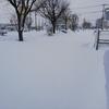 さようなら暴風雪、こんにちはツルザク路面